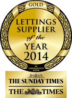 2014 Gold Winner - Lettings Agency Supplier of the Year